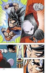Goku Ultra Instinct Sign reverts back to base form