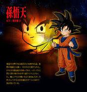 Goten en Dragon Ball Z:Budokai Tenkaichi 3