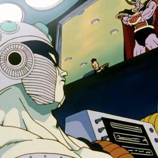 Il medico della razza di Malaka mentre crea Mecha Freezer.