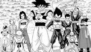 Team Universo 7 - manga