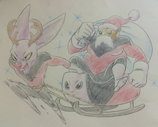 Jiren Toppo Dyspo Navidad (Takahashi)