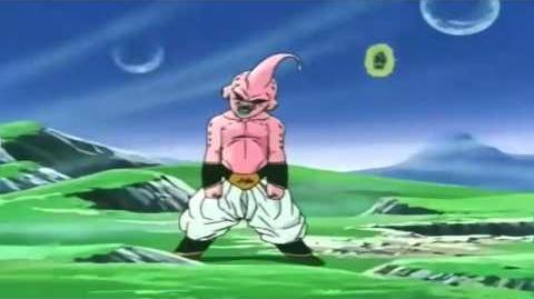 La super Genkidama de Goku Adios Magim Buu HD 1080p