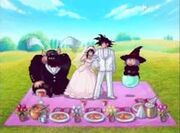 Attack of the saiyans wedding
