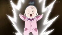 Dragon-ball-super-baby-pan-powers-up