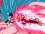 Goku Kaioken vs Vegeta