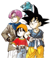 Goku Pan e Trunks