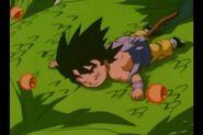 Goku se va con shenlong