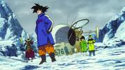 Son Goku, Vegeta, Bulma e Whis raggiungono le Terre del Nord - DBSB