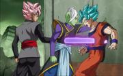 Black Goku trafigge Son Goku