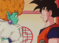 Princess Snake and Goku meet
