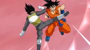 Goku Vegeta treino
