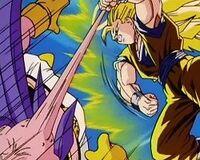 SSJ3 Goku vs Buu
