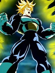 Trunks del Futuro Super Saiyan Tercer Grado DBZ
