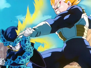 Vegeta vs Cell Jr.