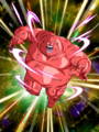 Dokkan Battle Boss Bio Warrior card (STR) (Bio Warrior Red)