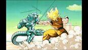 Goku ssj vs metal cooler