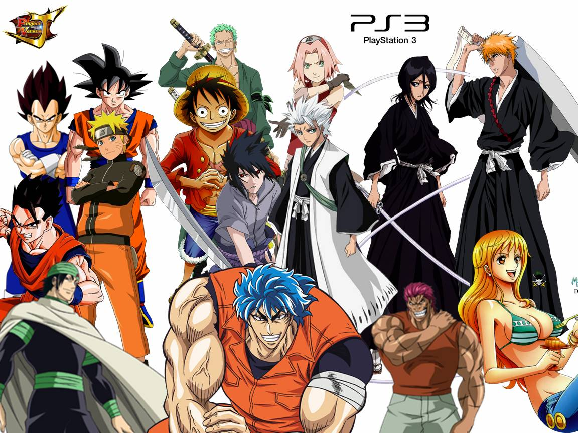Good Project Versus J(J Stars Victory)Naruto,Bleach,Toriko,One Piece,DBZ