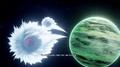 Vegeta and Nappa leave Tritek for Earth DBZ Kakarot