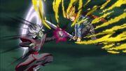 Zamasu (fusione) vs Trunks