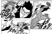 Basil contro Gohan - manga