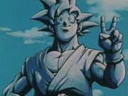 Goku Statue