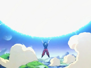 Goku crea l'Energia Sferica