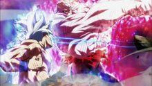 Jiren vs Son Goku UI