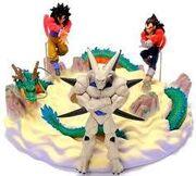 Banpresto Omega Goku Vegeta Diorama