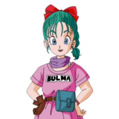 Bulma in Dragon Ball.