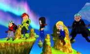 DB Fusions Red Ribbon Army Red Ribbon Androids (Android 17's Team)