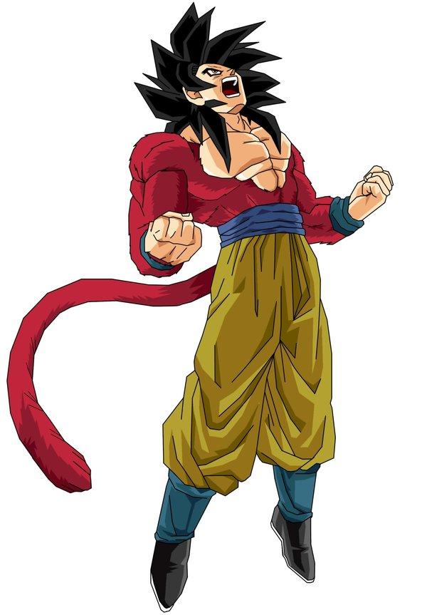Imagen  Goku SSJ 4jpg  Dragon Ball Wiki  FANDOM powered by Wikia