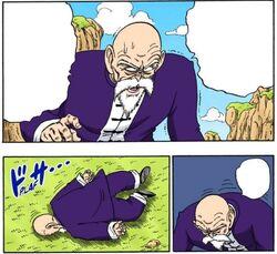 Morte maestro muten manga