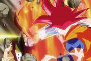 SSG Goku vs Cunber