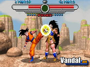 Taiketsu Goku VS Raditz