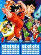 Calendario 2011 (mes 1 y 2)
