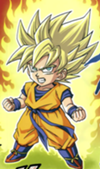Dragon Ball SD Goku Super Saiyan