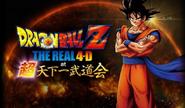 Dragon Ball Z The Real 4-D Super Tenkaichi Budokai