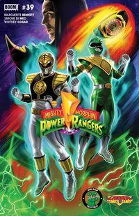 Mighty Morphin Power Rangers -39 portada