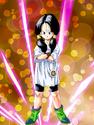 Dokkan Battle Slayer of Evil Videl card (Videl Pigtails N-R)
