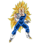 Hakai-Ô Vegeta (Super Saiyan 3) (Artwork)
