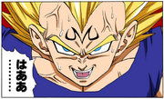 DBZ Manga Chapter 457 - Majin Vegeta appears