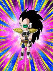 Dokkan Battle Boss Low-Class Saiyan Runt Raditz (Kid) card (Story Event - Three Saiyans Driven by Fate)