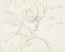 Genga Goku episodio 103 de Dragon Ball Z (Tate)