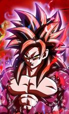 Goku Xeno Saiyano 4 al Ultramáximo Poder Rompedor de Límites