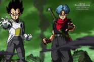 Trunks y Vegeta (SDBH)