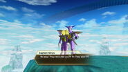 Xenoverse - Captain Ginyu's comment on the Cooler's Armored Squadron armor 1