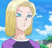 Androide 18 - Dragon Ball Super