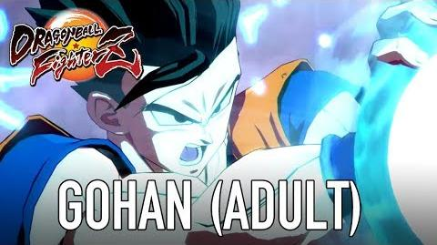 Dragon Ball FighterZ - PS4 XB1 PC - Gohan Adult (Character Intro Video)
