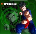 Gohan XV2 Character Scan