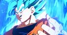 Goku ssj blue in fighterz